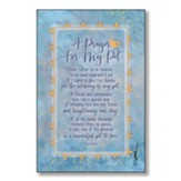 A Prayer For My Pet Wood Plaque
