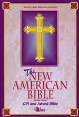 NABRE Deluxe Gift Bible, Leather, bonded