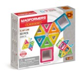 Magformers, XL Neon, 30 Pieces