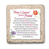 Things I've Learned from a Friend Sentiment Tile