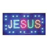 Jesus, LED Sign