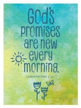 God's Promises Are New Every Morning Magnet