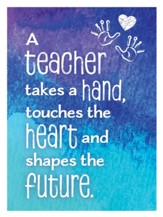 A Teacher Takes A Hand Magnet