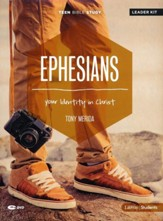 Ephesians Teen Bible Study DVD Leader Kit: Your Identity In Christ