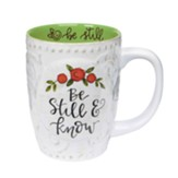 Be Still & Know Sculpted Mug