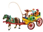 Playmobil Horse-Drawn Wagon