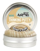 Thinking Putty, Mini Sand And Surf With Mild Beach Scent