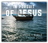2021 In Pursuit of Jesus: Lands of The Bible Calendar