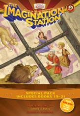 Imagination Station Books 3-Pack: Light in the Lions' Den, Inferno in Tokyo, Madman in Manhattan