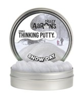 Thinking Putty, Snow Day, Sparkles Like Real Snow