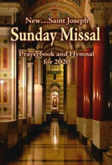 St. Joseph Sunday Missal (Annual): Prayerbook and Hymnal for 2020