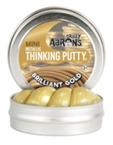 Mini Thinking Putty, Brilliant Gold