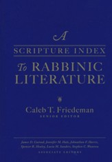 A Scripture Index to Rabbinic Literature