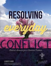 Resolving Everyday Conflict, Leader's Guide and Church Guide bundle