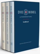 The Luther Bible, Large Print edition, 3 volumes
