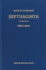 Septuaginta, the large print edition