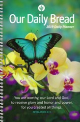 2019 Our Daily Bread Daily Planner
