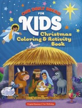 our daily bread for kids christmas coloring activity book