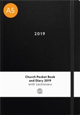 Church Pocket Book and Diary 2019: Black Large