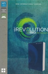 NIV, Revolution Bible: The Bible for Teen Guys, Imitation Leather, Blue