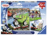 Thomas Watches Soccer Puzzles, Set of 3, 49 Pieces each