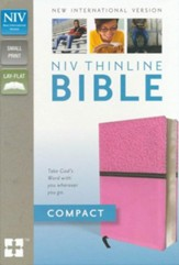 NIV Thinline Bible, Compact - Slightly Imperfect