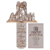Nativity Scene Wall Cross