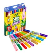 Silly Scents, Dual-Ended Markers, Sweet Scents, 10 pieces