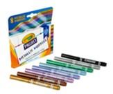 Crayola Project Metallic Markers, 8 Pieces