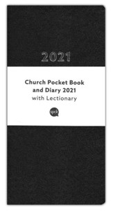 2021 Church Pocket Book and Diary, Black