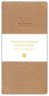 2021 Church Pocket Book and Diary, Bronze
