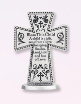 Bless This Child Standing Cross