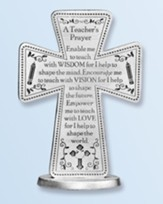 A Teacher's Prayer Standing Cross