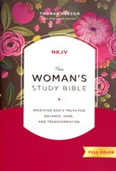 The NKJV Woman's Study Bible, Hardcover, Full Color