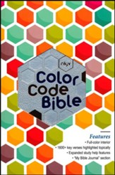 NKJV The Color Code Bible, Imitation Leather