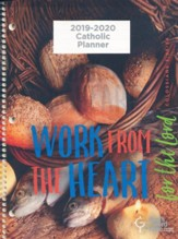 God's Word in Time Catholic Planner: Work from the Heart for the Lord Secondary Student NAS Edition; Large; August 2019-July 2020)