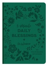 3-Minute Daily Blessings for Women: 365 Encouraging Devotions
