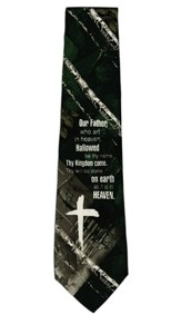 Lords Prayer II Tie