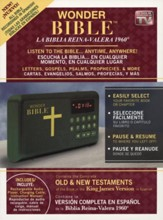 Reproductor de audio Wonder Bible™ RVR 1960  (RVR 1960 Wonder Bible™ Audio Player)