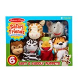 Safari Puppet Set, 6 Pieces