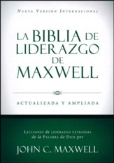 Biblia de Liderazgo de Maxwell NVI, Piel Marrón  (NVI Maxwell Leadership Bible, Brown Leather)