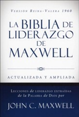 RVR 1960 Biblia de Liderazgo de Maxwell. Tam. Manual (Leadership Handy size Bible)