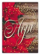 Hope is Born Anew, Box of 12 Christmas Cards (KJV)