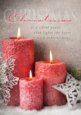 Silent Peace, Box of 12 Christmas Cards (NIV)
