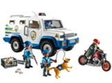 Playmobil Police with Money Transporter