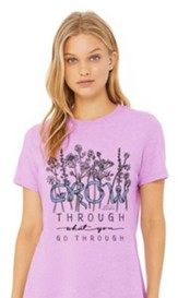 Grow T-Shirt, Lilac, Medium