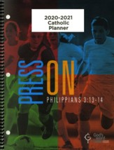 God's Word in Time Scripture Planner: Press On! Philippians  3:13-14 Elementary/Middle School Teacher Edition (NAB  Version; August 2020 - July 2020)