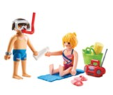 PlayMobil Beachgoers