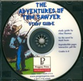 Adventures of Tom Sawyer Study Guide on CDROM - Slightly Imperfect
