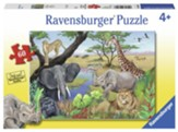 Safari Animals Puzzle, 60 Pieces
